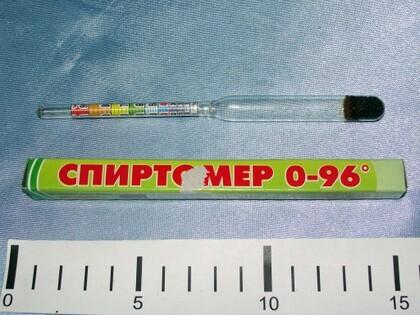 Спиртометр гр- 0,96 (89-021) /12040