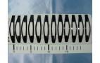 """Зажим д/волос """"Классика УЛЫБКА""""металл, черный. 8см/1/12  40"""