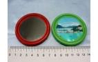 Зеркало карманное, круглое (d-6,5см)  1шт/20 (уценка !!!)