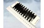 Заколка - невидимка,черная - 4,5см (лист-100шт)