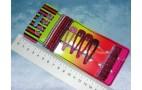 """Н-р на блистере """"розовый блеск""""он075  (зажимы,резинки,невид) мет/ткань"""